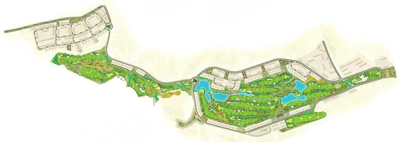 Carte du Terrain de Golf Font del Llop